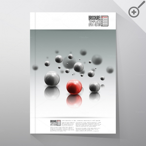 Abstract Science Catalog brochure