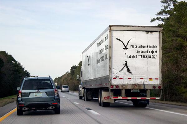 Download Truck Branding Mock-up