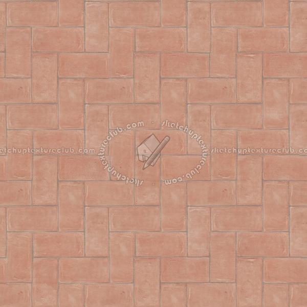 Terracotta Handmade Tiles Texture