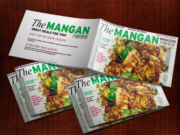 Foodie Magazine Style Presentation