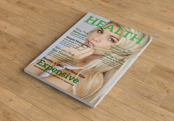 Universal Health Magazine Template