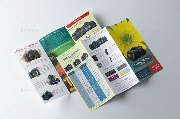 Digital Slr Camera Brochure
