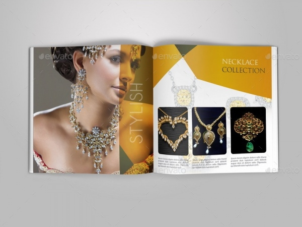 Jewelry and Accessories Catalog Brochure