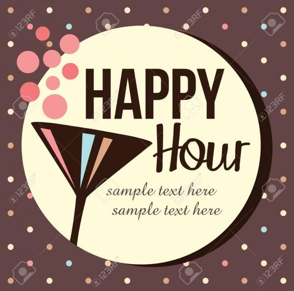 Happy Hour Cocktail Invitation