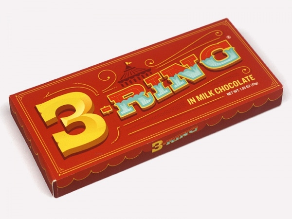 3 ring chocolate bar package