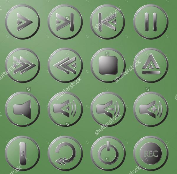 3D Multimedia Buttons