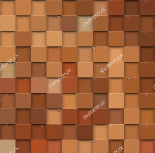3d Square Mosaic Texture