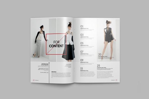 Elegant Corporate Magazine Design