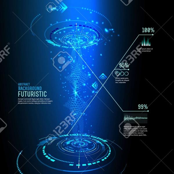 Technology Elements Vector