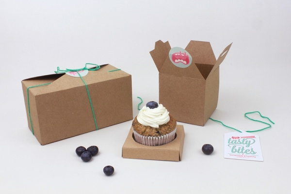 Tasty Bites CupCake Packaging Design
