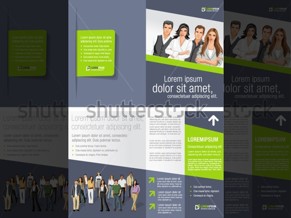 A4 Advertisement Brochure Template