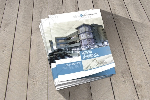 A4 Design Apartment Brochure