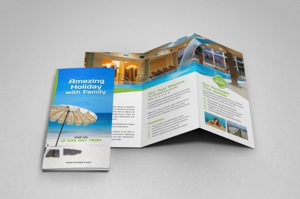 A4 Design Holiday Brochure