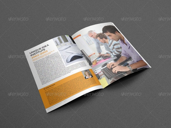 A4 Design Training Brochure