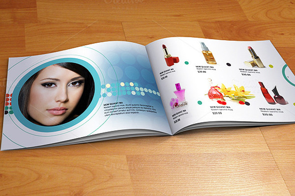 A5 Design Brochure for Jewelry