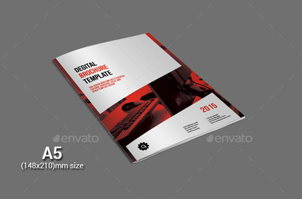 A5 Digital Brochure Design