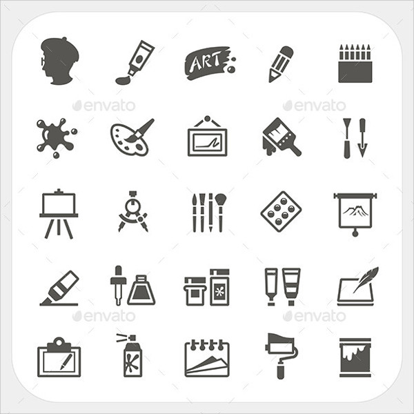 Abstract Art Icons