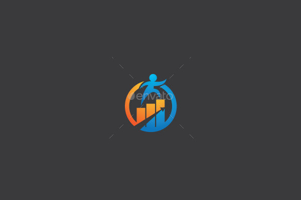 Abstract Financial Logo