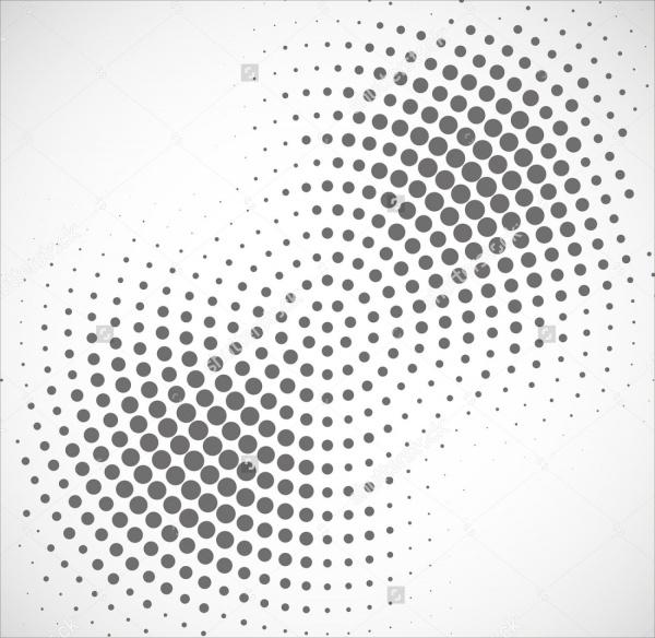 Abstract Halftone Vector Design