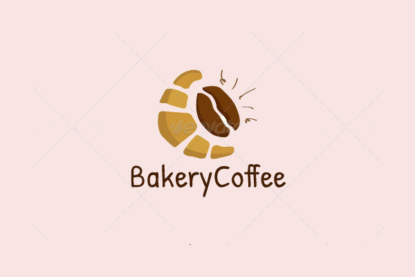 Abstract Hand Drawn Coffee Logo