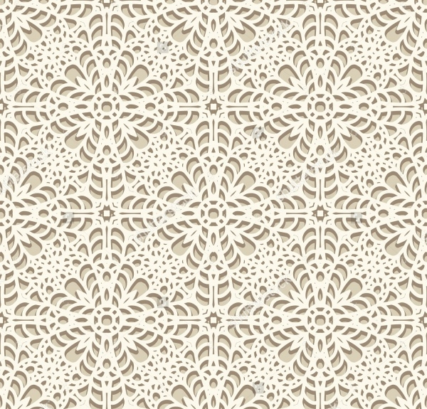 Abstract Handmade Lacy Texture