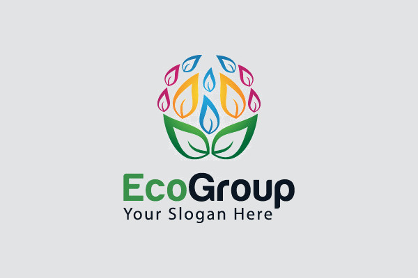 Abstract Nature Logo Design