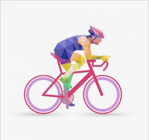 Abstract Polygonal Cyclist Vector