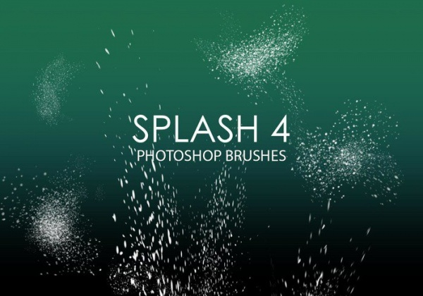 Abstract Splash Brushes
