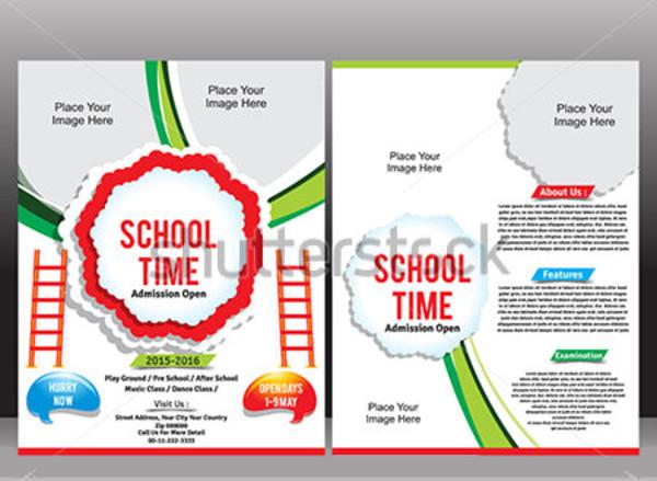 Admission School Invitation Flyer
