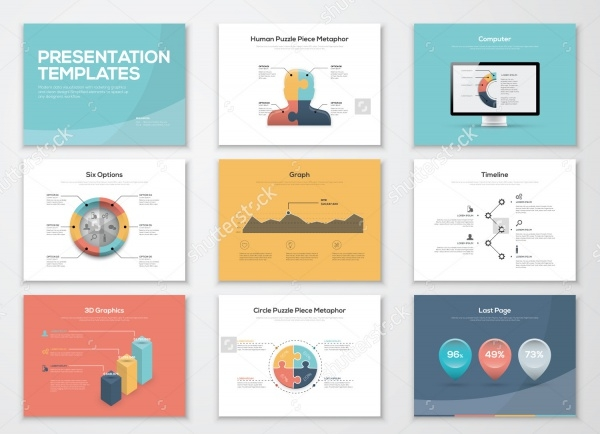 Advertisements Business Presentation Templates