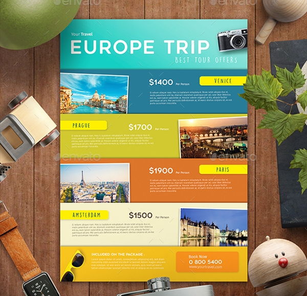 Agency Travel Flyer Design