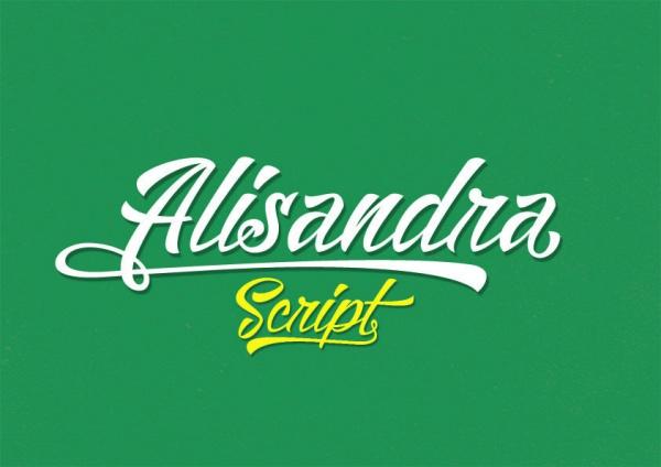 Alisandra Demo Script Brush Font
