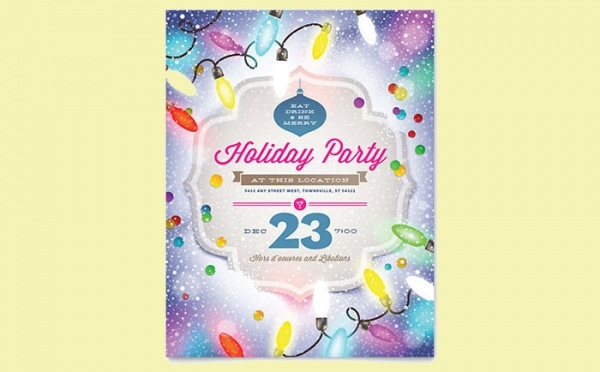 Amazing Cool Holiday Flyer