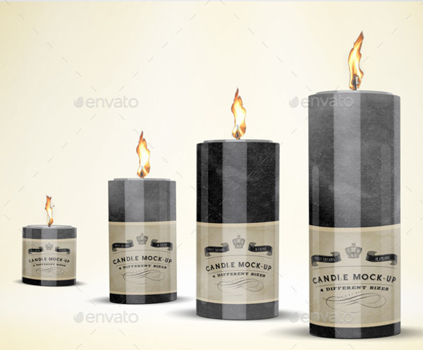 Amazing Realistic Candle Mock-up