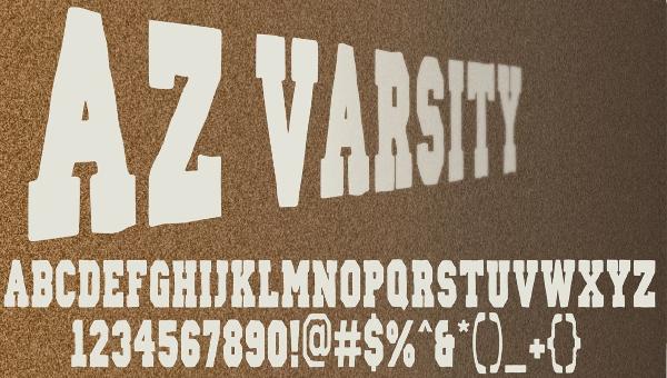 21+ Varsity Fonts - PSD, Vector EPS, JPG Download