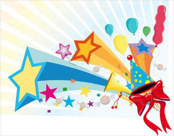 Amazing celebration vector