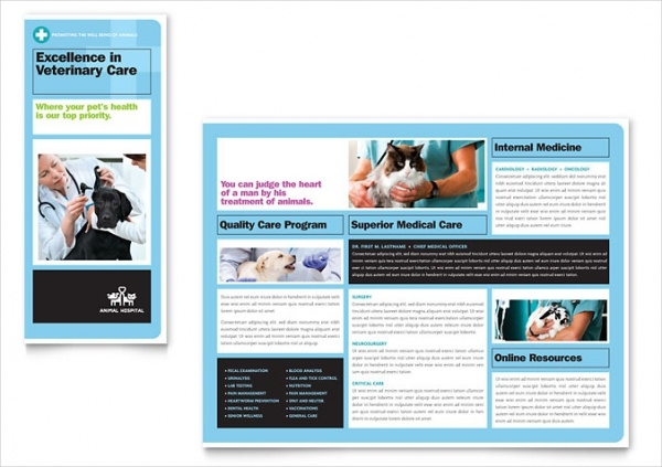Hospital Brochure Templates  Psd Vector Eps Jpg Download