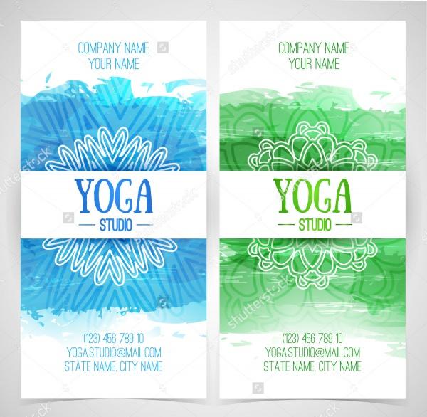Animation Yoga Studio Brochure