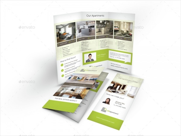 Apartment For Rent Brochure