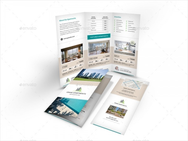 Apartment Real Estate Brochure