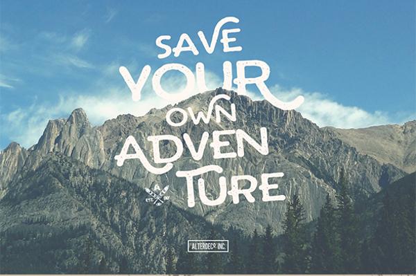 Arthur Typeface Adventure Font
