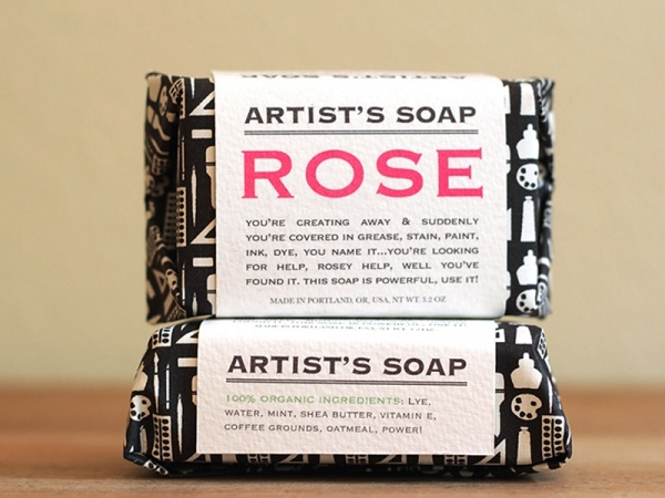 Artist's Soap Packaging Design