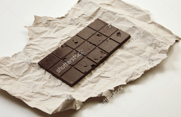 artistic chocolate craft paper packaging