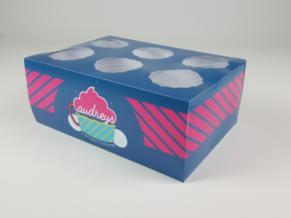Audreys Cupcake Box Packaging