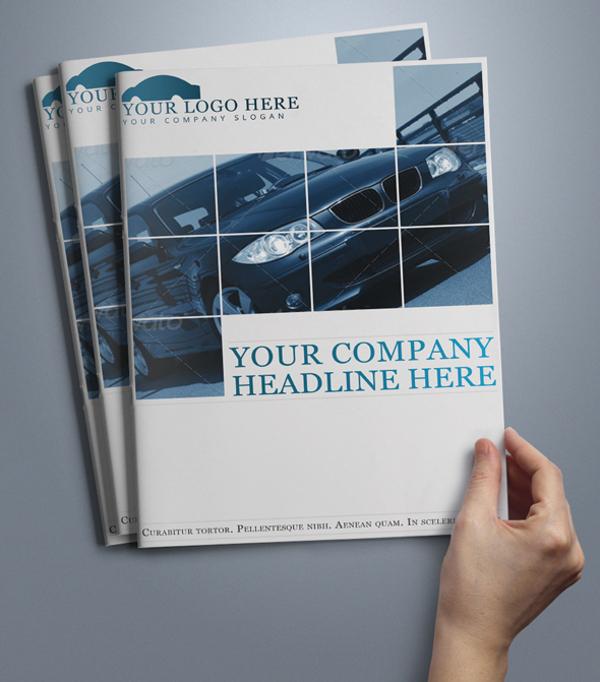 Automobile Car Brochure Template