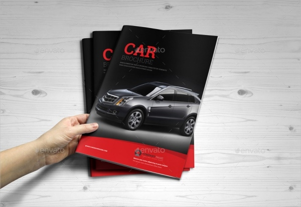 Automotive Car Brochure Cataloge InDesign Template