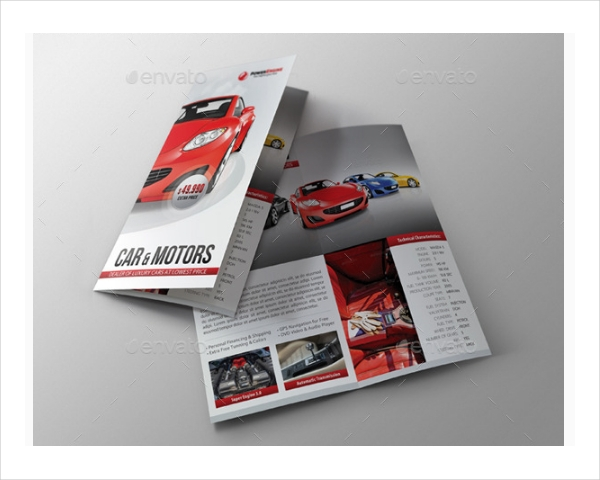 Automotive Car Sales Brochure Design
