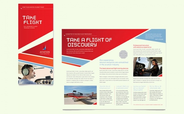 Aviation Flight Instructor Brochure