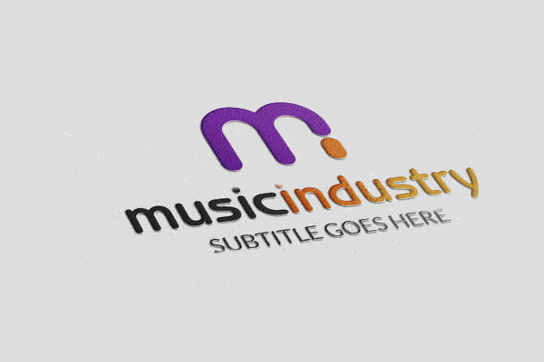 Awesome Music Industry Logo