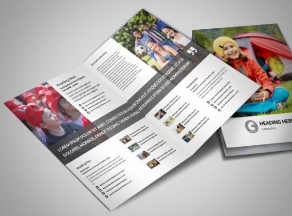 Awesome Summer Camp Brochure
